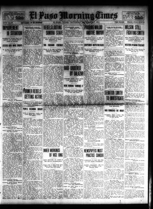 Primary view of object titled 'El Paso Morning Times (El Paso, Tex.), Vol. 32, Ed. 1 Saturday, September 7, 1912'.
