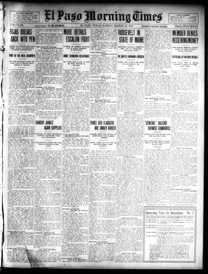 Primary view of object titled 'El Paso Morning Times (El Paso, Tex.), Vol. 32, Ed. 1 Sunday, March 24, 1912'.
