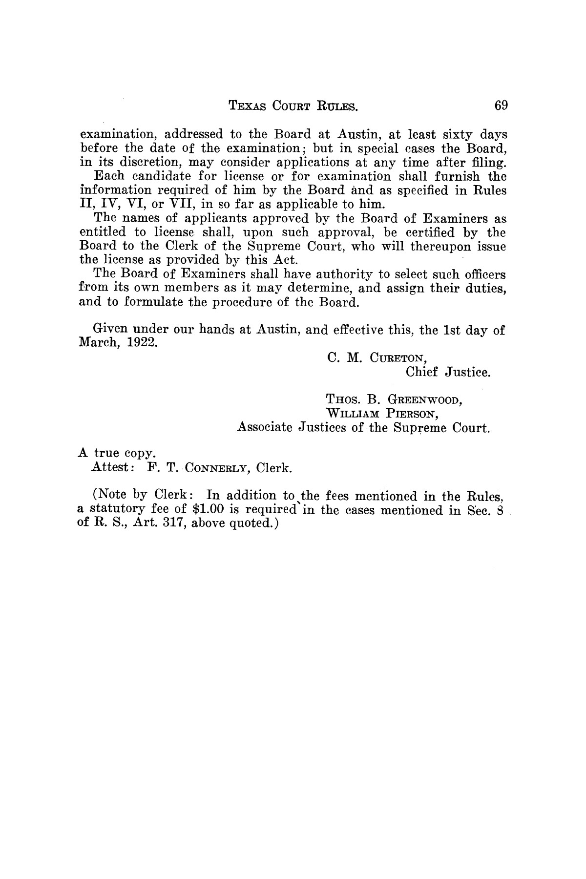 Gammel's Rules of the Courts of Texas                                                                                                      [Sequence #]: 69 of 70