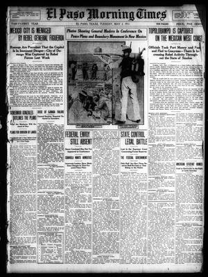 Primary view of object titled 'El Paso Morning Times (El Paso, Tex.), Vol. 31, Ed. 1 Tuesday, May 2, 1911'.