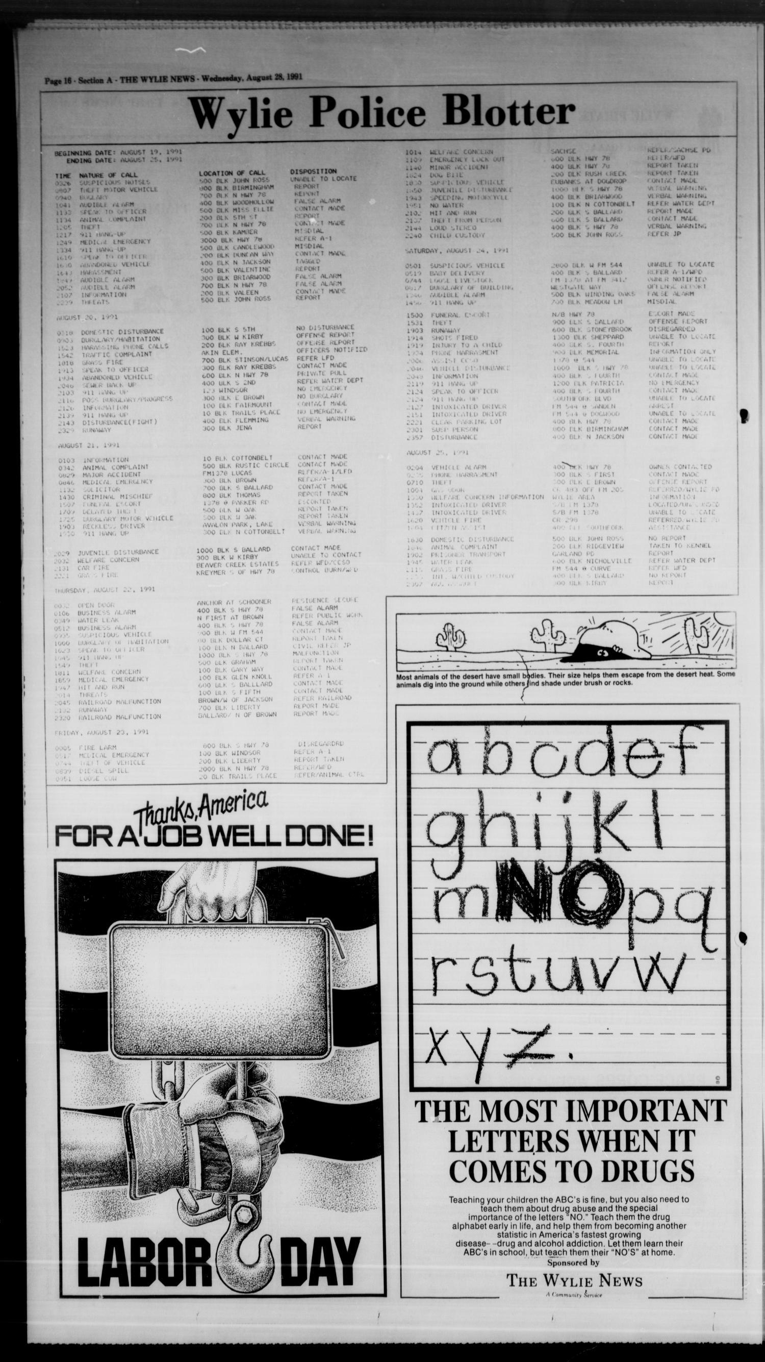 The Wylie News (Wylie, Tex ), Vol  44, No  12, Ed  1