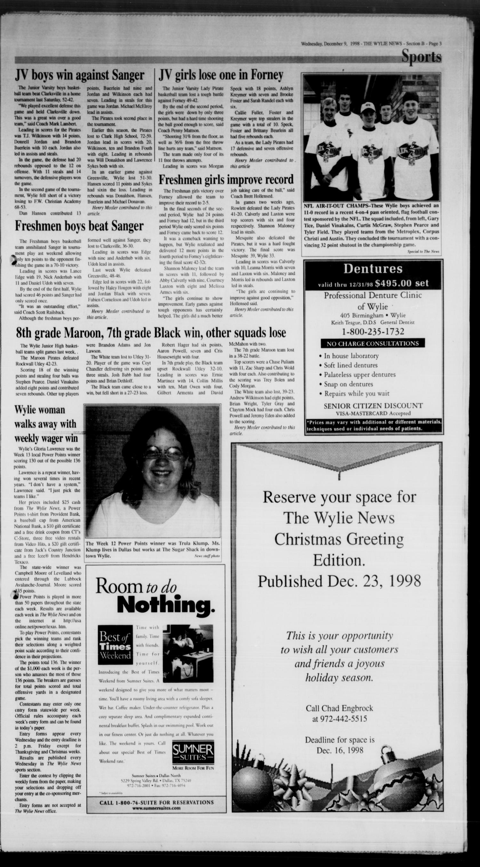 The Wylie News (Wylie, Tex ), Vol  52, No  28, Ed  1 Wednesday