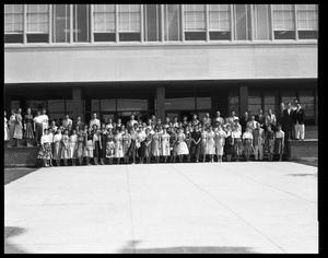 Primary view of object titled 'School Teachers at Abilene High School'.