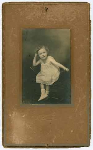 Primary view of object titled '[Portrait of a Girl]'.