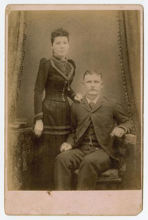 Primary view of object titled '[Portrait of a Couple]'.