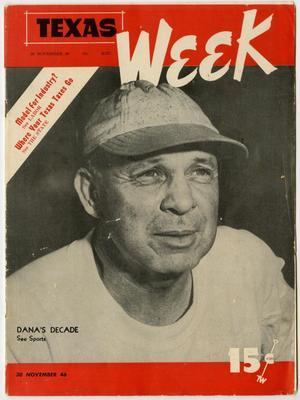 Texas Week, Volume 1, Number 16, November 30, 1946