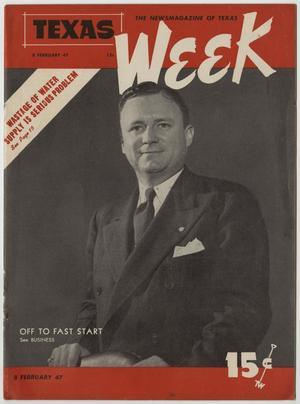 Texas Week, Volume 1, Number 26, February 8, 1947