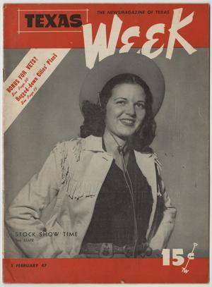 Texas Week, Volume 1, Number 25, February 1, 1947