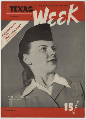 Texas Week, Volume 1, Number 27, February 15, 1947