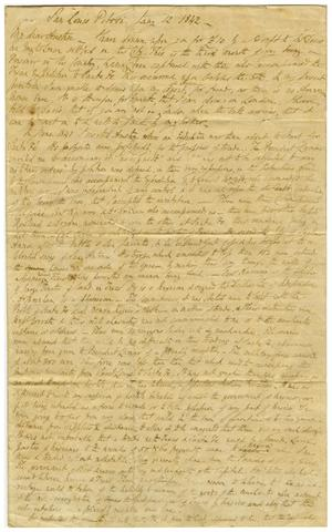 Primary view of object titled '[Letter from Thomas Falconer to Alfred Austin]'.