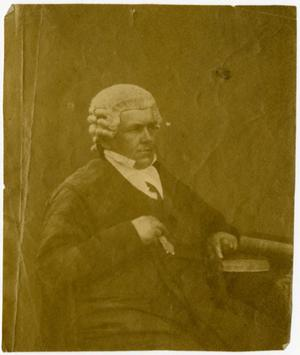 Primary view of object titled '[Portrait of Thomas Falconer]'.