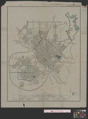 Primary view of object titled 'General Plan for a System of Parks and Boulevards for the City of Dallas, Texas.'.