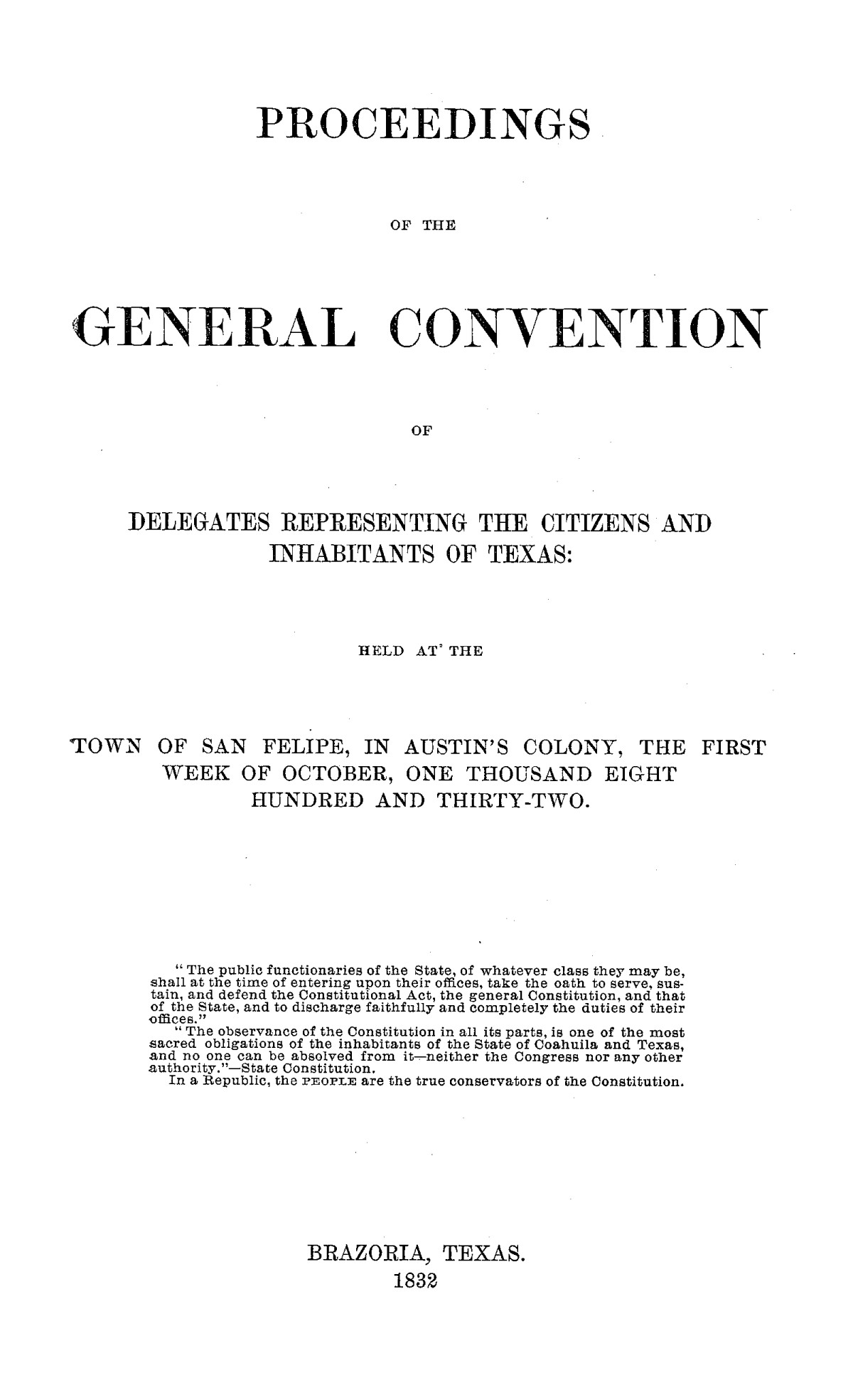 The Laws of Texas, 1822-1897 Volume 1                                                                                                      475