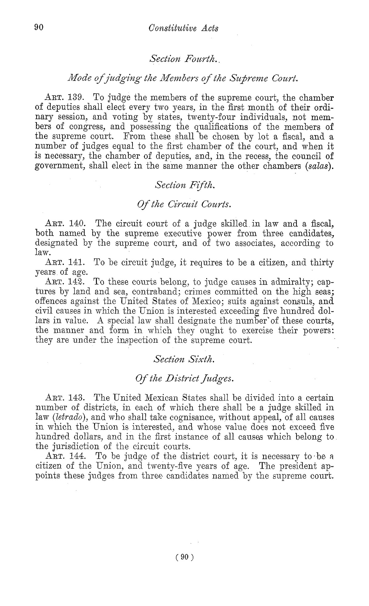 The Laws of Texas, 1822-1897 Volume 1                                                                                                      90