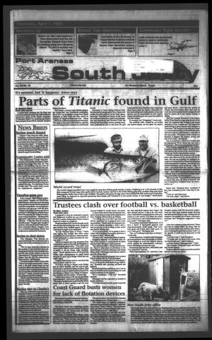 Primary view of object titled 'Port Aransas South Jetty (Port Aransas, Tex.), Vol. 23, No. 13, Ed. 1 Thursday, April 1, 1993'.