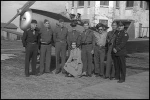 Primary view of object titled '[Photograph of Civil Air Patrol Members]'.