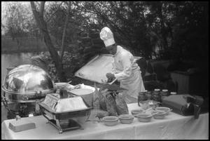 Primary view of object titled '[Photograph of Civil Air Patrol Conference Chef]'.