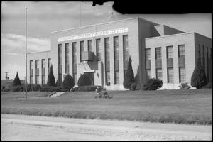 Primary view of object titled '[Photograph of Andrews County Courthouse]'.