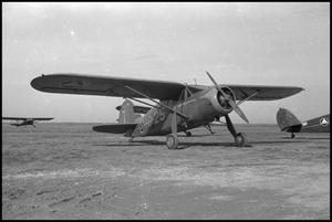 Primary view of object titled '[Photograph of Civil Air Patrol Airplane]'.
