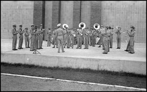Primary view of object titled '[Photograph of Civil Air Patrol Band]'.