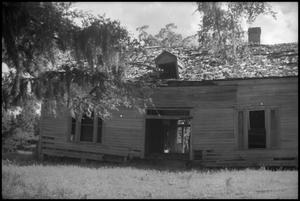 Primary view of object titled '[Photograph of Henderson Yoakum Home]'.
