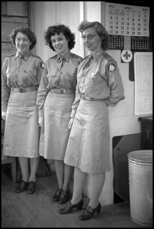 Primary view of object titled '[Photograph of Civil Air Patrol Women]'.