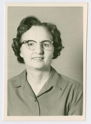 [Portrait of Olga Pazdral]