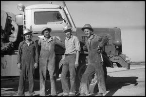 Primary view of object titled '[Photograph of Oil Crew]'.
