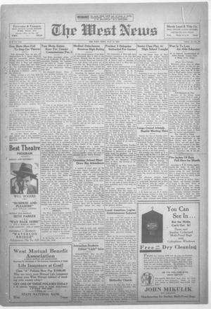 Primary view of object titled 'The West News (West, Tex.), Vol. 42, No. 50, Ed. 1 Friday, May 13, 1932'.