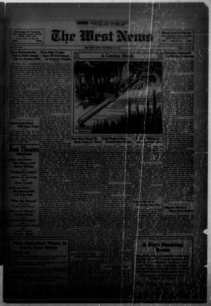Primary view of object titled 'The West News (West, Tex.), Vol. 45, No. 18, Ed. 1 Friday, September 28, 1934'.