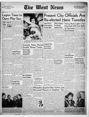 Primary view of The West News (West, Tex.), Vol. 59, No. 47, Ed. 1 Friday, April 8, 1949