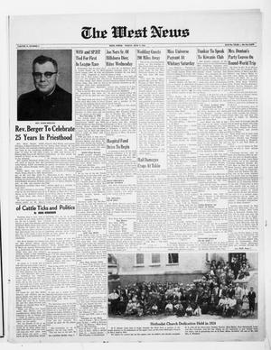 Primary view of The West News (West, Tex.), Vol. 71, No. 6, Ed. 1 Friday, June 9, 1961