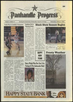 Primary view of object titled 'Panhandle Progress (Panhandle, Tex.), Vol. 1, No. 17, Ed. 1 Wednesday, January 6, 2010'.