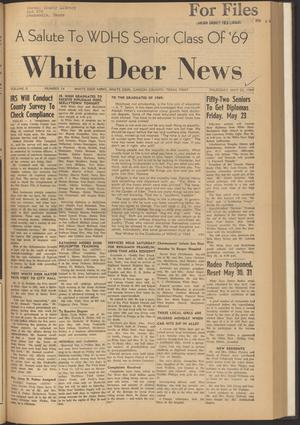 Primary view of object titled 'White Deer News (White Deer, Tex.), Vol. 10, No. 14, Ed. 1 Thursday, May 22, 1969'.