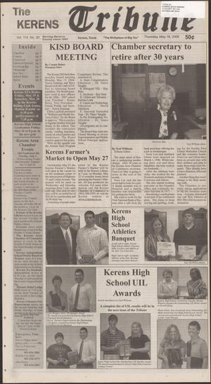 Primary view of object titled 'The Kerens Tribune (Kerens, Tex.), Vol. 114, No. 20, Ed. 1 Thursday, May 18, 2006'.