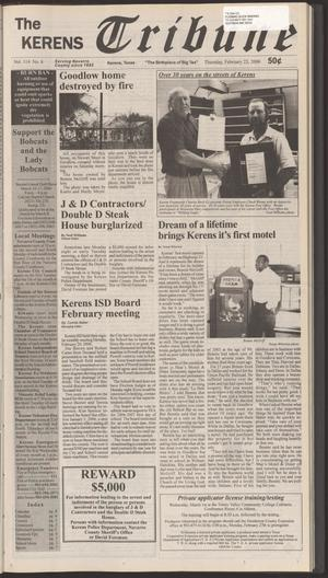 Primary view of object titled 'The Kerens Tribune (Kerens, Tex.), Vol. 114, No. 8, Ed. 1 Thursday, February 23, 2006'.