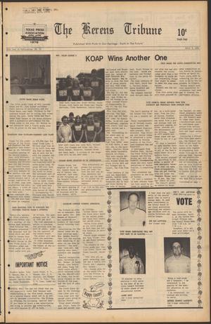 Primary view of The Kerens Tribune (Kerens, Tex.), Vol. 88, No. 14, Ed. 1 Thursday, April 3, 1980