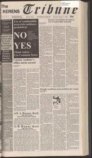 Primary view of object titled 'The Kerens Tribune (Kerens, Tex.), Vol. 134, No. 2, Ed. 1 Thursday, January 12, 2006'.