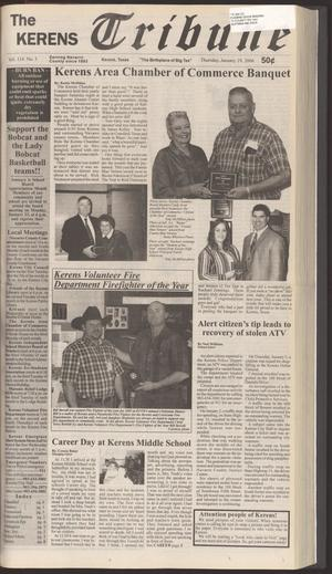 Primary view of object titled 'The Kerens Tribune (Kerens, Tex.), Vol. 114, No. 3, Ed. 1 Thursday, January 19, 2006'.