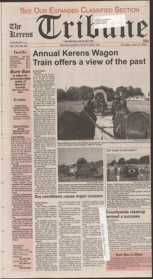 Primary view of object titled 'The Kerens Tribune (Kerens, Tex.), Vol. 114, No. 24, Ed. 1 Thursday, June 15, 2006'.