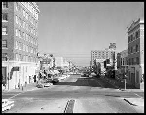 Primary view of object titled 'Pine Street in Downtown Abilene #1'.