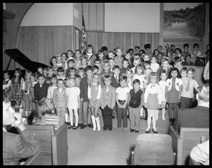 Primary view of object titled 'Children at Faith (Corinth) Baptist Church'.