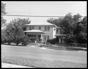 Primary view of object titled 'Gold Key Realtors Two Story House'.