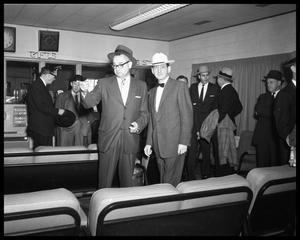 Primary view of object titled 'Ed Connally at Airport'.