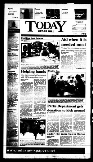 Primary view of Today Cedar Hill (Duncanville, Tex.), Vol. 37, No. 28, Ed. 1 Thursday, September 26, 2002