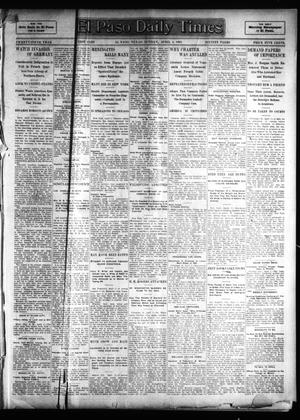 Primary view of object titled 'El Paso Sunday Times (El Paso, Tex.), Vol. 25, Ed. 1 Sunday, April 2, 1905'.