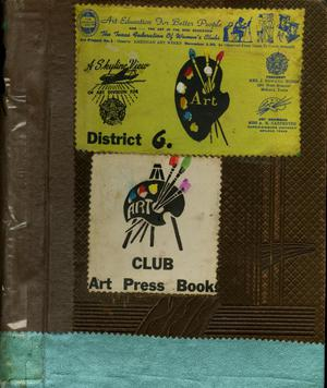 Primary view of object titled '[Art Forum Pressbook, 1949-1950]'.