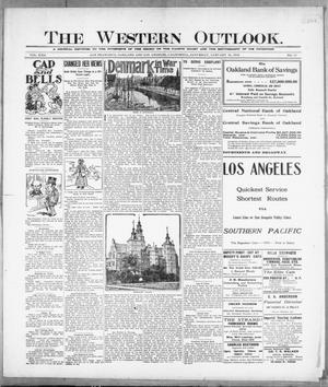 Primary view of The Western Outlook. (San Francisco, Oakland and Los Angeles, Calif.), Vol. 22, No. 17, Ed. 1 Saturday, January 15, 1916