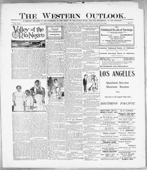 Primary view of The Western Outlook. (San Francisco, Oakland and Los Angeles, Calif.), Vol. 22, No. 19, Ed. 1 Saturday, January 29, 1916
