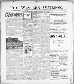 Primary view of The Western Outlook. (San Francisco, Oakland and Los Angeles, Calif.), Vol. 22, No. 20, Ed. 1 Saturday, February 5, 1916
